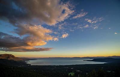 Photograph - Tahoe Sunset Stillness by Martin Gollery