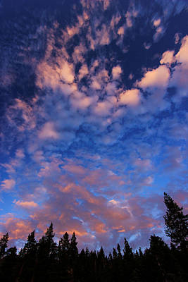 Photograph - Tahoe Twilight Skyscape by Sean Sarsfield