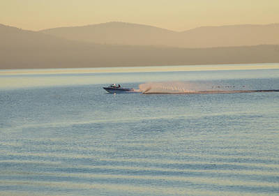 Photograph - Tahoe Waterski by Wes Jimerson