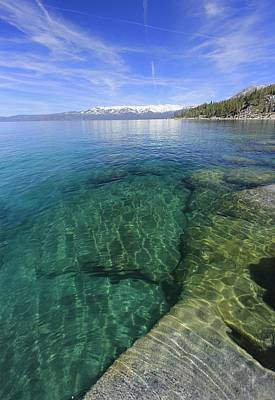 Photograph - Tahoe Wild by Sean Sarsfield