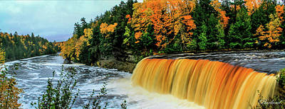 Photograph - Tahquamenon Falls 2 by Burland McCormick