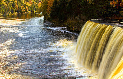 Photograph - Tahquamenon Falls And River by Pat Cook