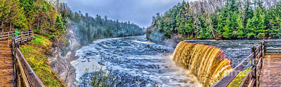 Photograph - Tahquamenon Falls Michigan by Nick Zelinsky