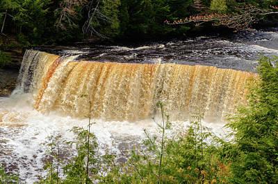Photograph - Tahquamenon Falls State Park  -  Tahquamenonfalls171466 by Frank J Benz
