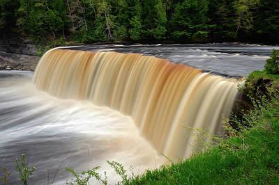 Photograph - Tahquamenon Falls State Park  -   Tahquamenonfalls171479 by Frank J Benz