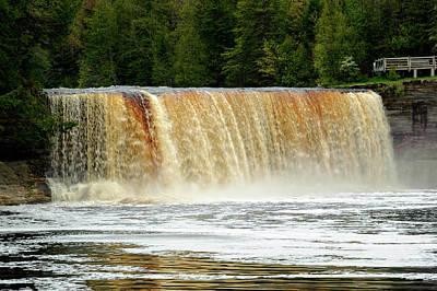Photograph - Tahquamenon Falls State Park   -  Tahquamenonfalls171523 by Frank J Benz