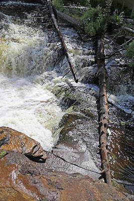 Photograph - Tahquamenon Lower Falls 7 by Mary Bedy