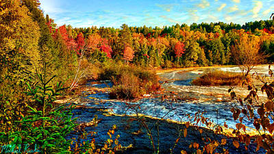 Tahquamenon River Original by Michael Rucker