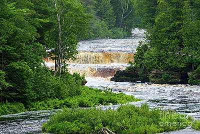Photograph - Tahquamenon The Lower Falls by Jennifer White