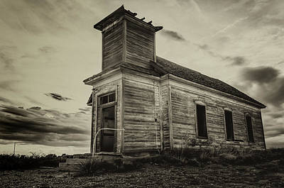 Photograph - Taiban Presbyterian Church, New Mexico #2 by Adam Reinhart