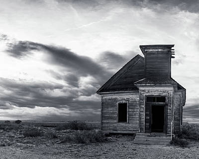 Photograph - Taiban Presbyterian Church, New Mexico #3 by Adam Reinhart