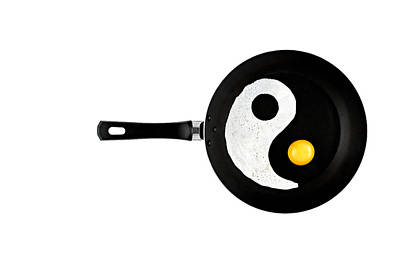 Yin And Yang Photograph - Taijitu by Gert Lavsen
