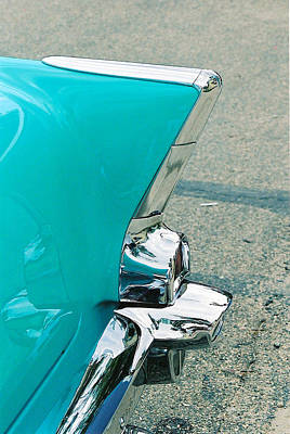 Antique Automobiles Photograph - Tail Fin by Lauri Novak