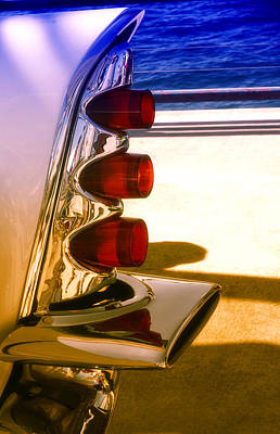 Photograph - Tail Lights by Michael Hope