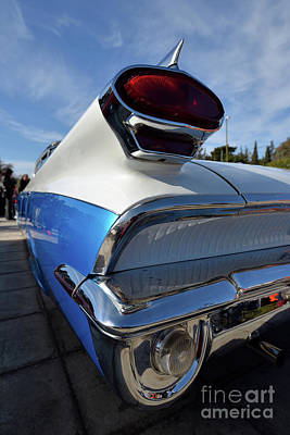 Retro Photograph - Tail Lights Of 1959 Oldsmobile Dynamic 88 by George Atsametakis