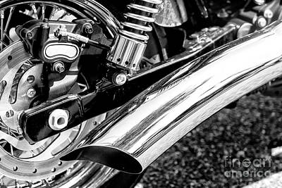 Photograph - Tailpipe by John Rizzuto