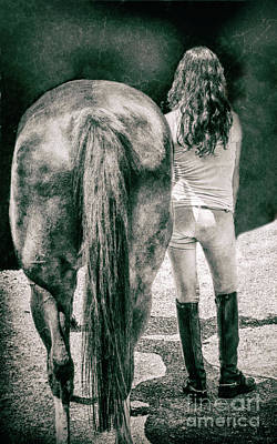 Fashion Photograph - Tails by Steven Digman