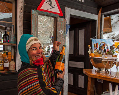 Photograph - Taimi In Zermatt Switzerland by Brenda Jacobs