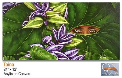 Borinquen Painting - Taina by Kenneth Santos