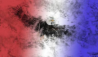 Tainted Eagle Art Print by Sean Holmquist