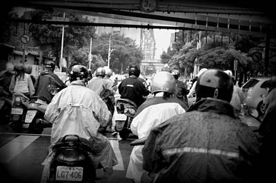 Photograph - Taipei Rush Hour by Bill Hamilton