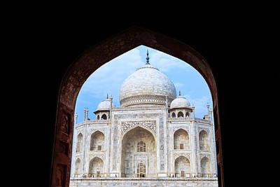 Taj Archway Art Print by Nila Newsom