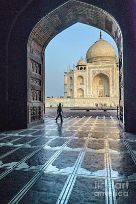 Photograph - Taj Mahal 01 by Werner Padarin