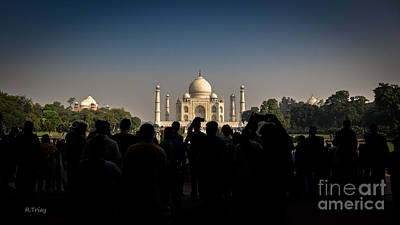 Photograph - Taj Mahal Agra India by Rene Triay Photography