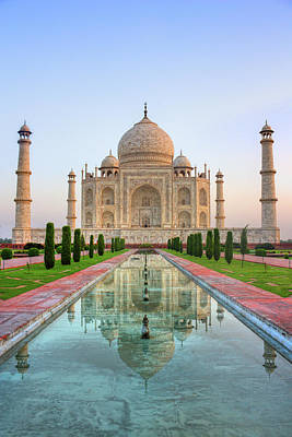 Built Structure Photograph - Taj Mahal, Agra by Pushp Deep Pandey / 2kPhotography