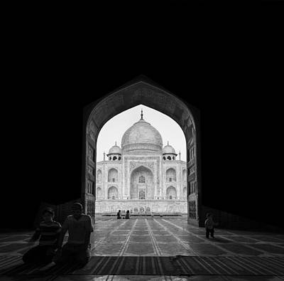 India Wall Art - Photograph - Taj Mahal by Basem Al-qasim