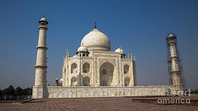 Photograph - Taj Mahal Beautiful Architecture by Rene Triay Photography