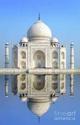 Photograph - Taj Mahal by Delphimages Photo Creations