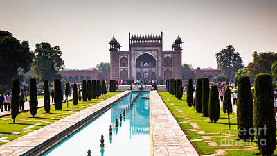 Photograph - Taj Mahal Main Gate by Rene Triay Photography