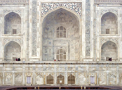 India Religion Photograph - Taj Mahal II by Nina Papiorek