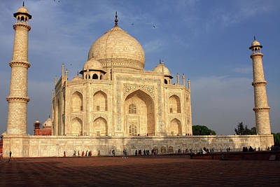 Photograph - Taj Mahal In Evening Light, Agra, Uttar Pradesh, India  by Aidan Moran