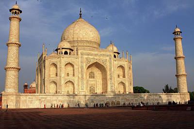 Photograph - Taj Mahal In Evening Light, Agra, Uttar Pradesh, India  by Aidan Moran