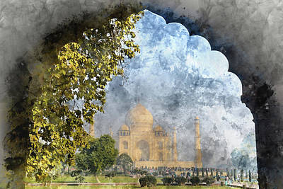 Just Desserts - Taj Mahal in India by Brandon Bourdages