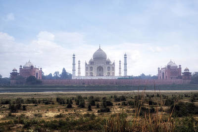 Cupola Photograph - Taj Mahal - India by Joana Kruse