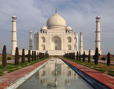 Photograph - Taj Mahal by Joel Gilgoff