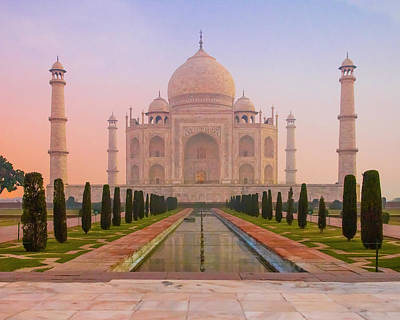 Photograph - Taj Mahal  by Ken Aaron