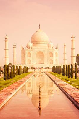 Photograph - Taj Mahal Reflecting Pool by Nila Newsom
