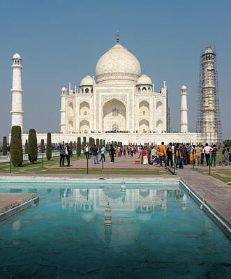 Photograph - Taj Mahal by Steven Richman