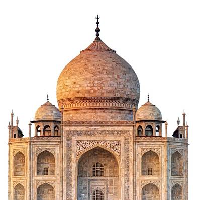 Temple Photograph - Taj Mahal T by Ivan Slosar