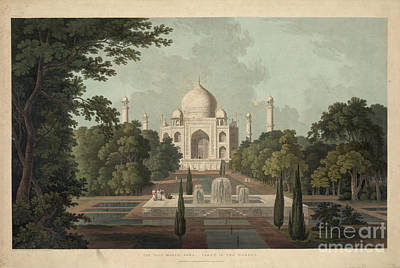 Taj Mahal Painting - Taj Mahal by Celestial Images