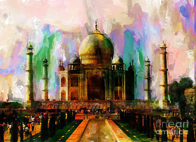 Taj Mehal 009 Original by Gull G