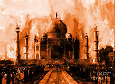 Taj Mehal  Original by Gull G