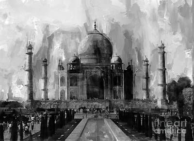 Taj Mehal Indian Original by Gull G