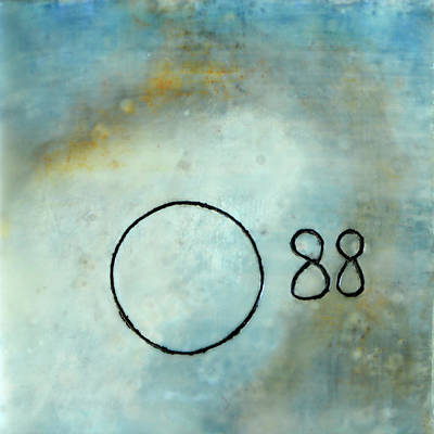 Mixed Media - Taj Tile 88 by Eliaichi Kimaro