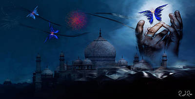 Digital Art - Taj Too by Richard Ricci