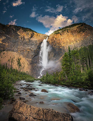 Photograph - Takakkaw Falls Of Yoho National Park by William Lee